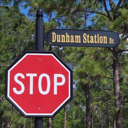 Street Sign Frames & Brackets