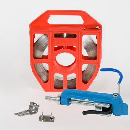 Metal Band Clamping System For Mounting