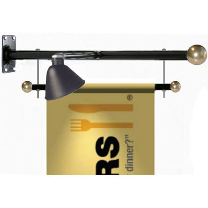 Trapeze Style Banner Brackets