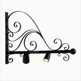 Verona Illuminata Hanging Sign Bracket