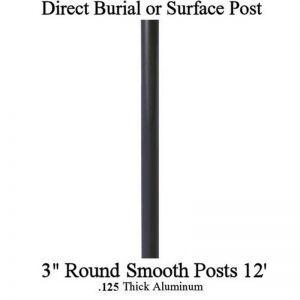 12' Aluminum Post