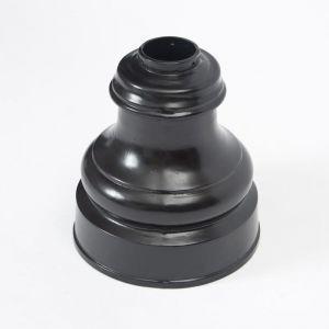 12in. Wide Base Slip-Over Base for 4in. Pole - Black