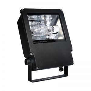 120v Aluminum Dual-Element Mini HID Flood Fixture