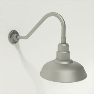 Quick Ship 16in. Warehouse Shade Gooseneck - 6 Gooseneck Arm Options