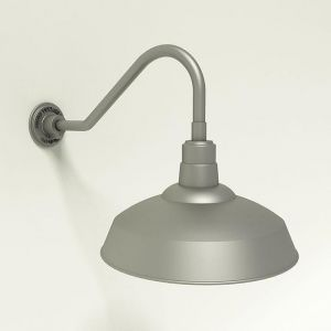 Quick Ship 18in. Warehouse Gooseneck Light - Choose from 6 Gooseneck Arms