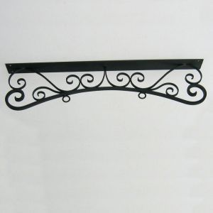 "30"" Parisian Ceiling Mount Sign Bracket"