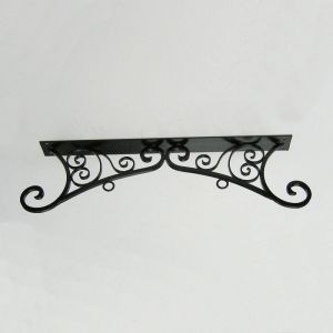 "30"" Versailles Ceiling Mount Sign Bracket"