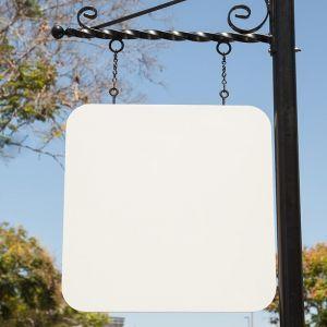 "36"" x 36"" Radius-Corner Square Sign Blank"