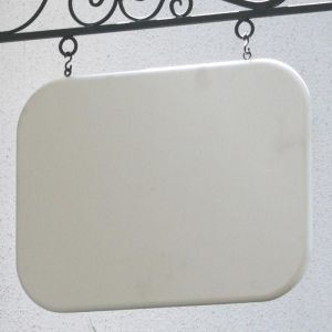 "26"" x 18"" Rounded-Corner Rectangle Sign Blank"