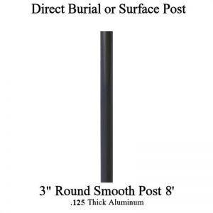 8' Aluminum Post
