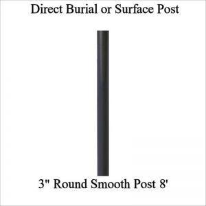 8' Steel Round Post