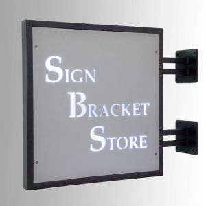 Deluxe Backlit Sign Bracket Kit