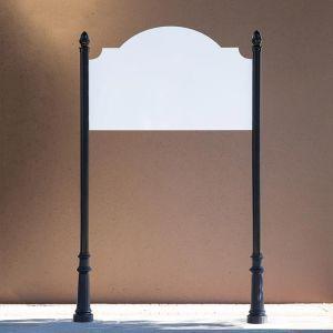 Medium Elegant Post & Panel System