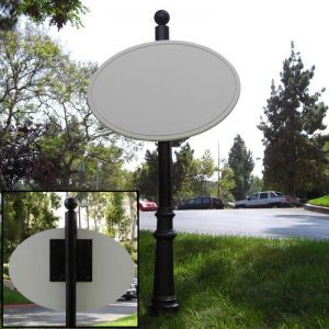 Premium Decorative Sign Mount System- Choose 1 Sided or 2 Sided