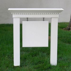 Small Colonial Post & Panel Sign System