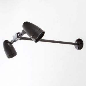 Streamline Wall Mount Double PAR20 Spotlight Fixture