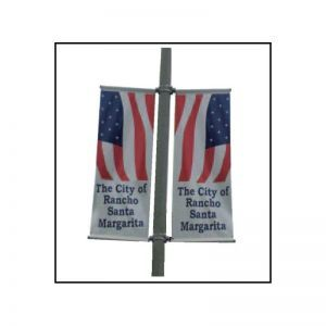 Two-Way Boulevard Banner Bracket Set (Top & Bottom)