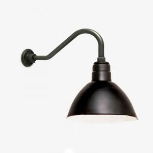 Quick Ship 12in. Deep Bowl Goose Neck Light - Choose from 6 Mounting Arms