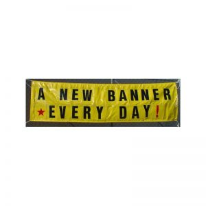 3' x 10' Changeable Letter Banner