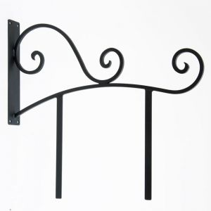 """30"""" Milano Sign Bracket with mounting bars"""