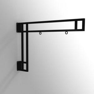 46in. Modern Truss Hanging Sign Bracket