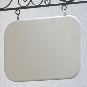 "46"" x 30"" Rounded-Corner Rectangle Sign Blank"