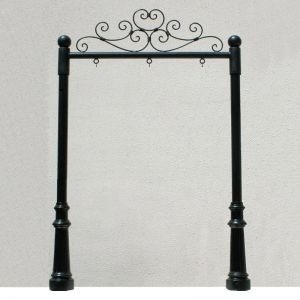 """50"""" Ornamental Post and Panel System"""