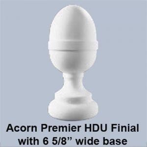 "6 5/8"" Dia. Full Large Acorn Newel Post Top"
