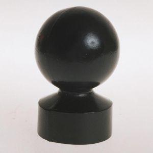 "Cast Aluminum Ball Finial for a 3"" Post"
