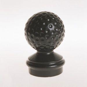 """Cast Aluminum Golf Ball Finial- 3"""" Post"""