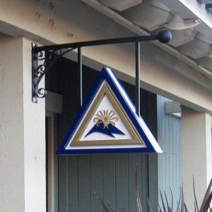 Custom Florence Sign Bracket w/ Fixed Mount Bars