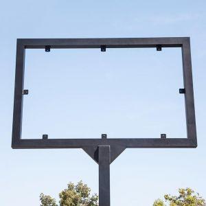 Direct Bury Metal Sign Frame (2 Sizes)