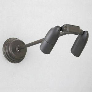 Low Voltage MR16 Halogen Modern Straight Arm Directional Double Bullet Sign Lighter