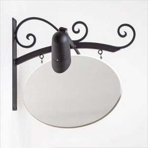 Milano Illuminata Arch Blade Sign Bracket