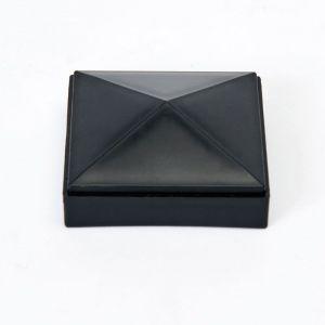 """PLASTIC Cap for 3"""" Sq Post - Black"""