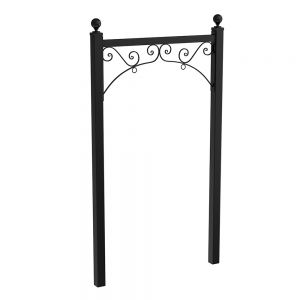 """50"""" Milano Iron Post and Panel System"""