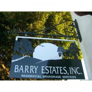 Rancho Santa Fe Blade Sign Bracket