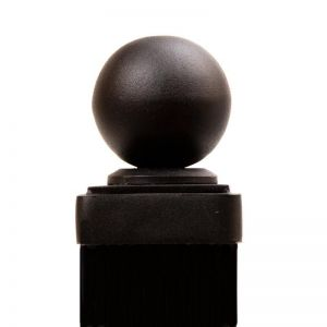 Steel Ball Finial for 3x3 Square Post