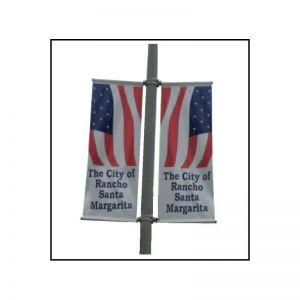 Two-Way Boulevard Banner Bracket Set (Top & Bottom)