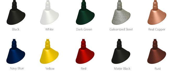 Gooseneck lighting for store signs