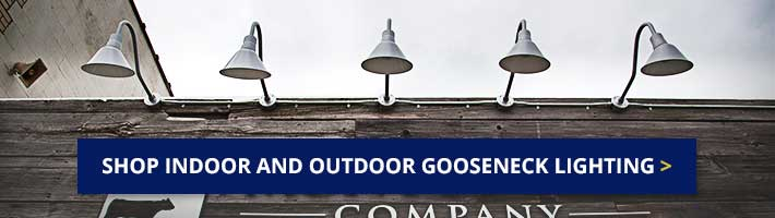 Shop Indoor and Outdoor Gooseneck Lights