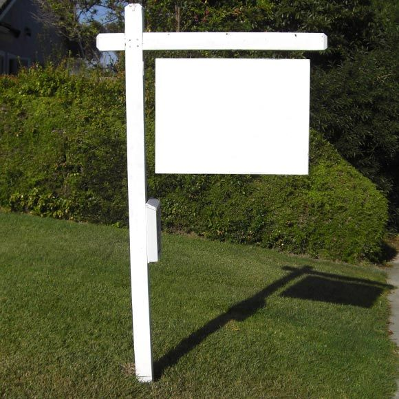 Find the perfect real estate sign blank