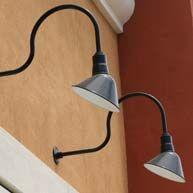 Gooseneck business lights