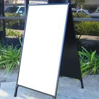 A-frame chalkboard signs