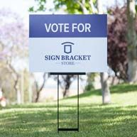 Campaign and real estate sign holders