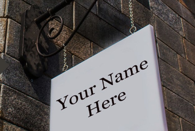 Sign Bracket Store - Your Name Here